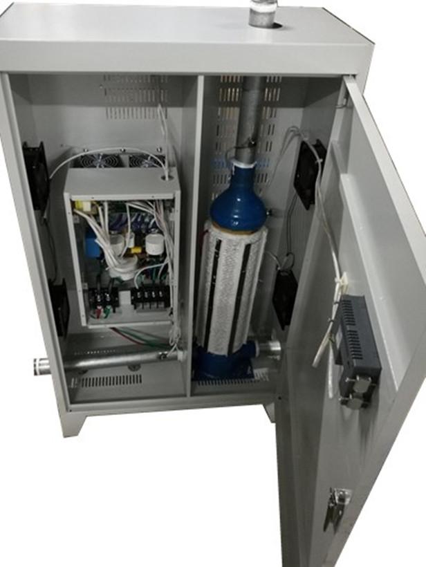 变频电磁采暖热水炉 1,电磁感应制热,真正意义上的水电分离,电路和
